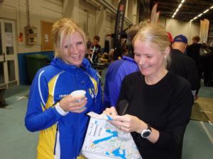Marja Laukkasen kanssa pronssista iloitsee entinen pitkäaikainen seurakaveri Piritta Wartiainen